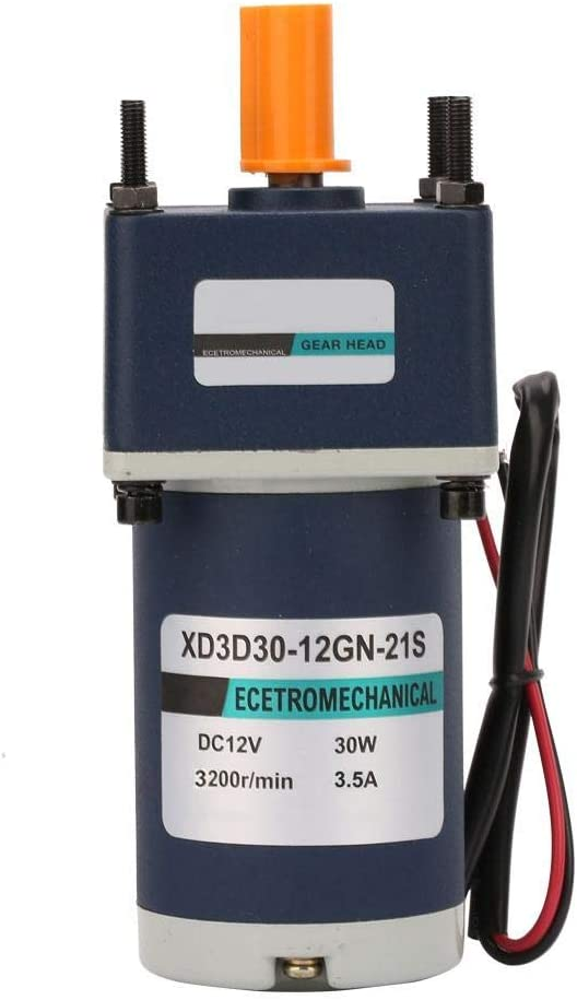 BINGFANG-W DC Limited price sale Gear Motor 12V 30W R Max 85% OFF 3200RPM XD3D30-12GN-32S 3000