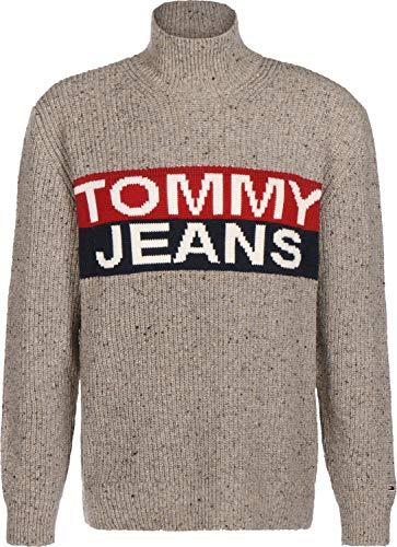 Tommy Jeans Logo Panel gebreide trui