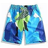 Eco Memos Pantalones Cortos y Troncos de Natación para Hombres Secado Rápido Tableros de Natación de Tablero Pantalones Cortos de Surf Pantalones de Playa de 9'