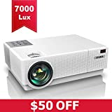 Best Full Hd 1080 Projectors - Projector, YABER Native 1920x 1080P Projector 7000 Lux Review