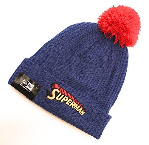 New era bonnet heroscriptknit-sUPERMAN-bleu - Bleu - Taille unique