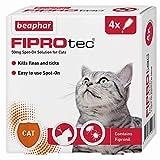 Beaphar Fiprotec Spot-On Cat, 4 Pipette