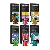 Il Caffè Italiano - Nespresso 60 Capsule compatibili - Kit Degustazione Tour d'Italia con varie intensità - Frhome