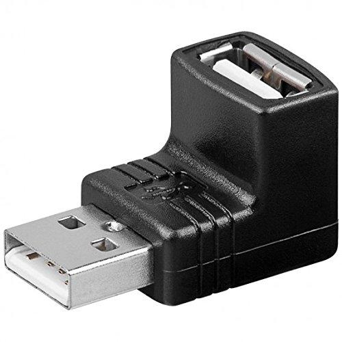 MANHATTAN IADAP USB-AF90 USB-adapter op stekker/bus 90°