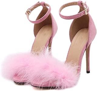 Best fluffy pink heels Reviews