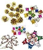 Party Hub 54 pcs Christmas Tree Decoration Ornaments Set of 54 pcs