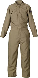 Lakeland 4.5 oz Flame Resistant Nomex Coverall, Open Cuff, 42
