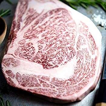 [Overnight Shipping] Japanese Miyazaki Wagyu Beef Ribeye Steak Grade A5 Imported From Japan 30 Ounces Thick Cut Hand Crafted Steak