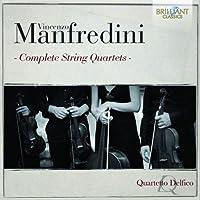 Manfredini: Complete String Quartets by Quartetto Delfico (2014-06-24)