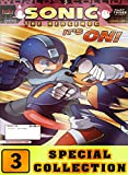 Sonic Hedgehog Special: Collection 3 Comic Cartoon Graphic Novels Adventure Of Sonic For Children (English Edition)