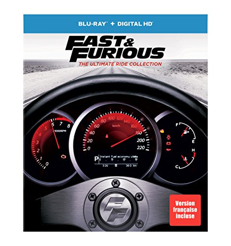 Fast & Furious 1-7: The Ultimate Ride Collection Limited Edition (Blu-ray)