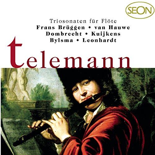 Essercizii Musici, Trio 9 in E Major for Transverse Flute, Violin and Basso continuo, TWV 42:E4: III. Andante