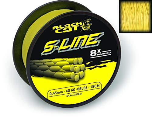 Blackcat gelb Black Cat S-Line Ø0,38mm 250m 40kg