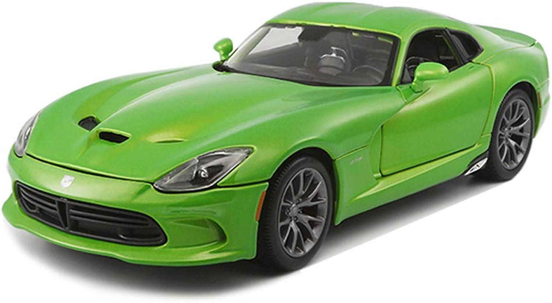 Simulation V Dodge Serpent De Alliage En Voiture De Modèle