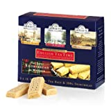 English Tea Time–Tea And Shortbread Combination Pack, 3X 10teabags and 200G Wa...