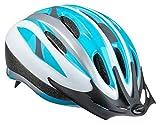 Schwinn Bike Helmet Intercept Collection, Adult, Silver/Light Blue