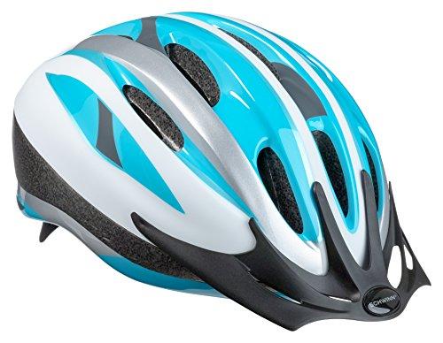 Schwinn Bike Helmet Intercept Collection, Youth, Silver/Blue