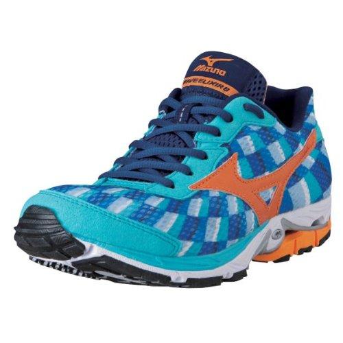 Mizuno Ladies's Wave Elixir 8 Working Shoe,Blue,10.5 B US thumbnail