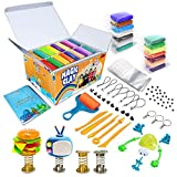 Modeling Clay Kit - 36 Colors Air Dry Magic Clay, Soft & Ultra Light DIY Molding Clay with Sculpting Tools, Animal Decoration Accessories, Kids Art Crafts Best Gift for Boys & Girls Age 3-12 Year Old