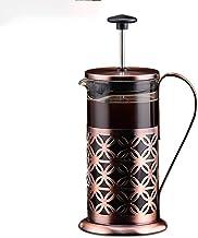 Huangwanru Koffiepers roestvrij stalen pot multifunctionele glazen koffiemok thee-machine handgemaakte koffiepot Franse pe...