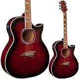 Guitarra electroacústica Lindo Org cuerpo normal con preamplificador y afinador...