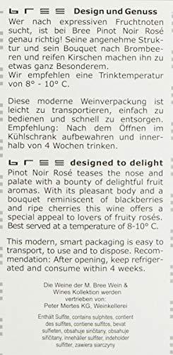 Bree Pinot Noir Rosé Qualitätswein feinherb aus Deutschland, Bag-in-Box (1 x 3 l) - 8