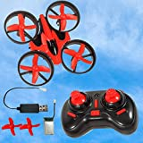 B bangcool Mini Quadcopter Drone for Kids or Adults - 6 Year Old Gift Micro Interactive Hand Sensing Drone, Remote Control Helicopter Headless Mode 3D Flip One Key Return Drone