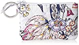 Vera Bradley Women's Wallet Signature Cotton Zip ID Case, Hummingbird Park, One Size