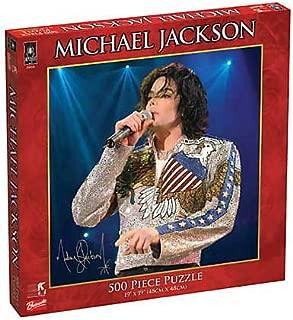 BePuzzled Pop Culture Puzzles - Michael Jackson 500Pc United We Stand Puzzle