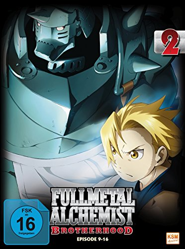 Fullmetal Alchemist: Brotherhood - Vol. 2 (Digipack im Schuber mit Hochprägung und Glanzfolie) [2 DVDs] [Limited Edtion] [Limited Edition]