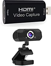 P Panoraxy HDMI to USB Capture Card with 1080P Webcam