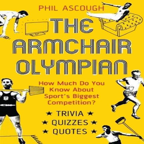 Armchair Olympian audiobook cover art