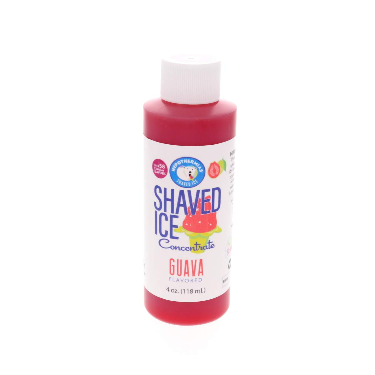 Ranking New product! New type TOP4 Guava Shaved Ice and Snow Concentrate Unsweetened Cone Flavor 4