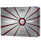 Callaway Golf Chrome Soft X Golf Balls, (One Dozen), White