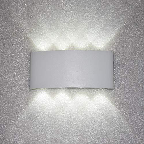 Lámpara de Pared lámpara de Pared Impermeable al Aire Libre Arriba y Abajo Foto Pared Impermeable l