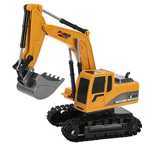 Sansund RC Bagger, Fernsteuerungstechnik Auto voll funktionsfähige Fernbedienung Bagger Konstruktion Traktor für Kinder