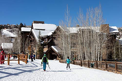 Vintography 24 x 36 Giclee Print ofThe Ritz-Carlton Bachelor Gulch Luxury Hotel in The Beaver Creek Resort Area of Avon Colorado west of Vail s29 2016 Highsmith