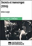 Secrets et mensonges de Mike Leigh: Les Fiches Cinéma d'Universalis