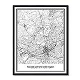 Susie Arts V480 Kunstdruck, ungerahmt, Newcastle Upon Tyne,