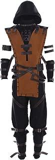 Men's Suit for Mortal Kombat X Scorpion Cosplay Costume