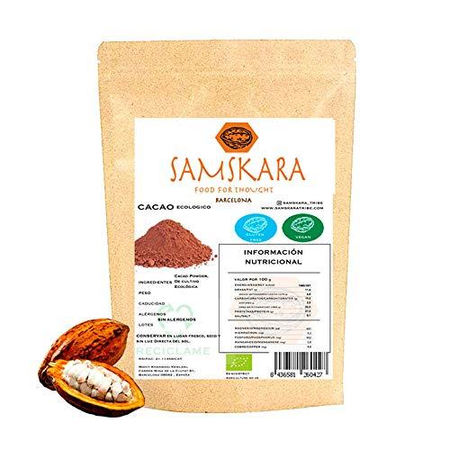 Cacao en Polvo Alcalinizado 100% Natural y puro 10%-12% Desgrasado | Proceso Holandes Cocoa Alcalino | 1 kg