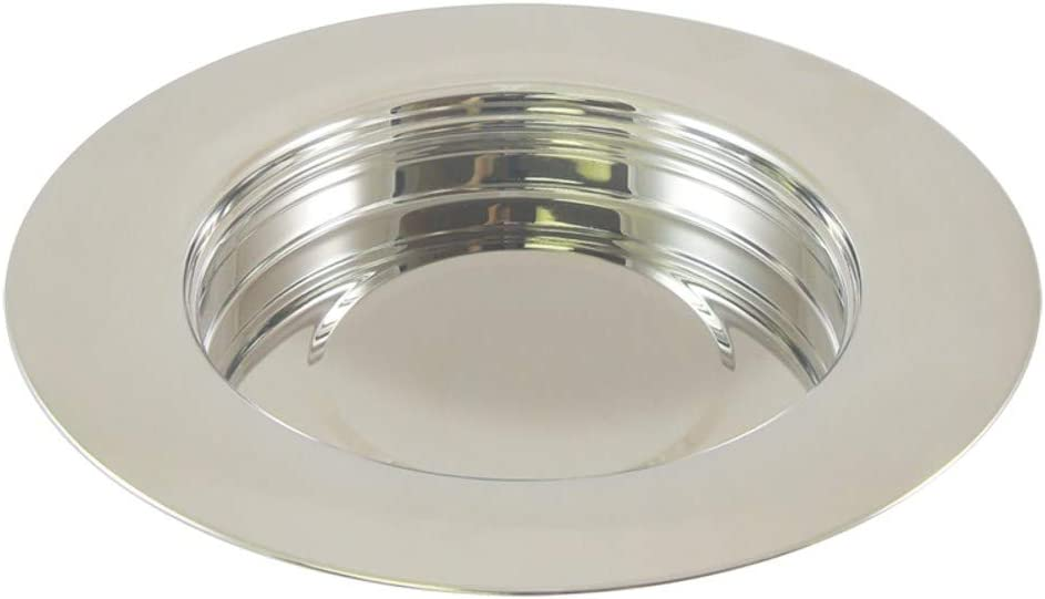 Communion - Silvertone Deluxe Elegant Plate Selling and selling Stackable Bread