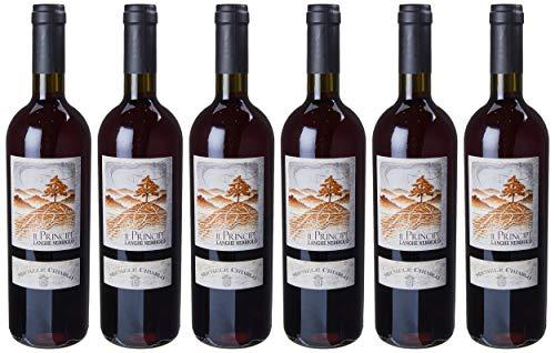 Michele Chiarlo Vino il Principe Nebbiolo Langhe, 2015-6 bottiglie da 750 ml