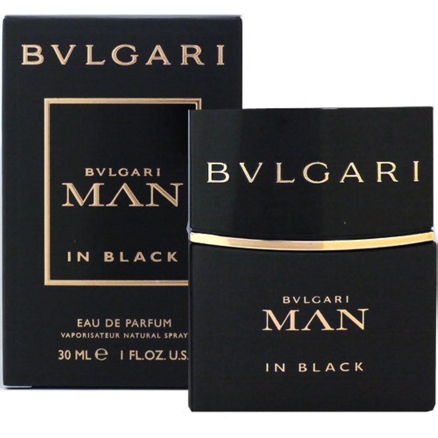 低い眠っている意図的ブルガリ BVLGARI ブルガリ マン イン ブラック 30ml EDP SP fs