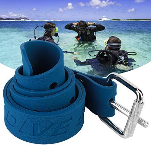 Obciążnik do nurkowania Pas biodrowy Gumowy pas balastowy 1 szt. Do nurkowania z klamrą Quick Release(Diving belt)