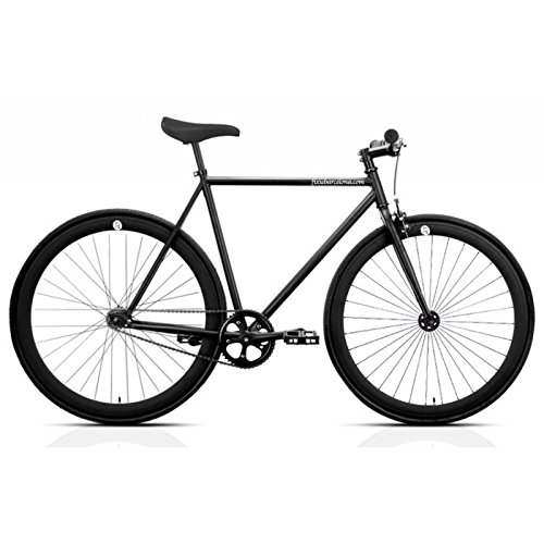 Bicicleta FB FIX2 Total Black. Monomarcha Fixie/Single Speed. Talla 53