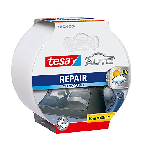 Tesa Auto Repair Band, 10m x 48mm, transparent