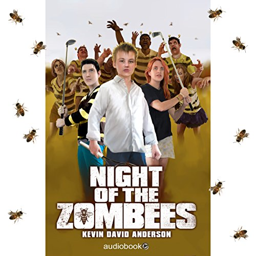 Night of the ZomBEEs audiobook cover art