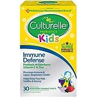 30-Count Culturelle Kids Immune Defense Tablets