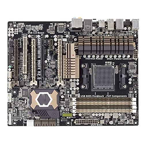 MPGIO Placa Base para Juegos FIT FOR ASUS Sabertooth 990FX R2 AM3 + DDR3 32GB 990FX
